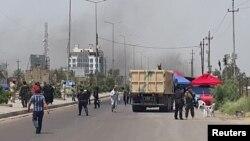انفجار در محله سیدیه در جنوب بغداد