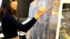 [뉴스풍경]한국계 미국인 화가의 북한그림 전시회