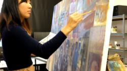 [뉴스풍경 오디오]한국계 미국인 화가의 북한그림 전시회