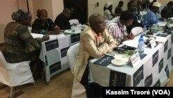 Rencontre à Bamako, Mali, le 17 décembre 2017. (VOA/Kassim Traoré)