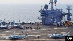 """Cuộc diễn tập """"Tinh thần bất khuất"""" đã diễn ra trong vùng Biển Nhật Bản với sự tham dự của khoảng 8.000 binh sĩ Hoa Kỳ và Nam Triều Tiên"""