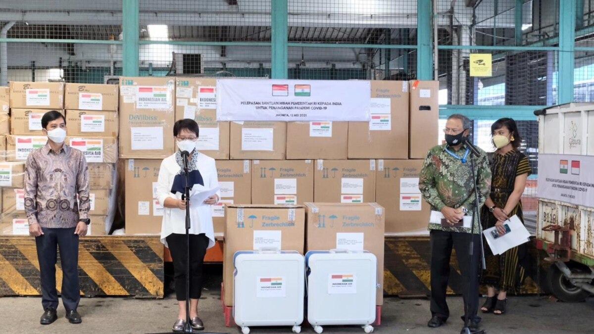 Indonesia Beri Bantuan Hibah Untuk India
