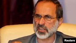모아즈 알 카티브 시리아국가연합 대표. (자료사진)