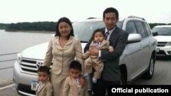 Iowa ျပည္နယ္မွာ အသတ္ခံရတဲ့ Stephen Kim ရဲ႕ မိသားစု ဓာတ္ပံု
