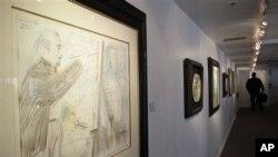 Picasso လက္ရာ ပန္းခ်ီကားတစ္ခ်ပ္