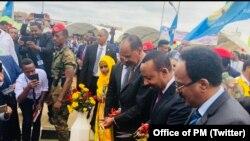 Abayobozi ba Eritereya, Etiyopiya na Somaliya baganira ku mahoro y'akarere batuyemo.