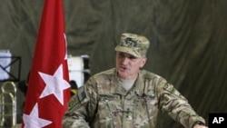 驻阿富汗美军第二号将领斯卡帕罗蒂中将(资料照)