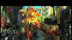 Berbagai Perayaan Tahun Baru Imlek 2014 di AS