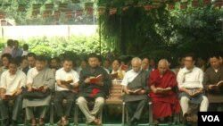 Tibetans Observe Tibetan Democracy Day in Delhi