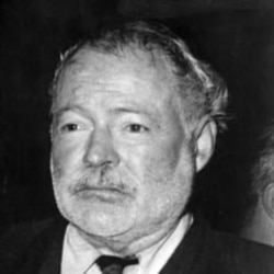 Hemingway was able to paint in words what he saw and felt