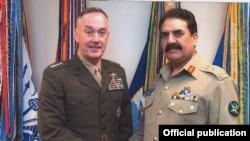 جنرل راحیل کی جنرل ڈنفورڈ سے ملاقات
