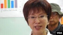 台灣立法院副院長洪秀柱(美國之音趙婉成拍攝)