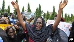 Wasu iyayen 'yan matan Chibok