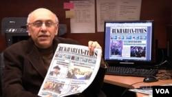 "Rafael Nektalov, ""Bukharian Times"" gazetasi bosh muharriri"