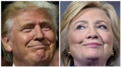 Trump အေပၚ Clinton အသာစီးရ