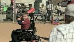 Бейсбол дає інвалідам віру у себе