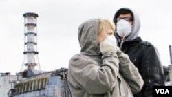 Turisti u Černobilu