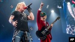 La agrupación AC&DC acaba de finalizar una gira por Estados Unidos.