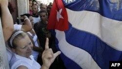Лаура Польян. Гавана, Куба. 23 февраля 2011 г.