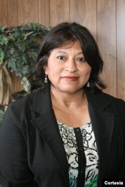 Nery Mabel Reyes, periodista de Radio YSKL.