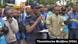Bonaventure Karekezi ni Umuvugizi wa Polisi mu ntara y'uburengerazuba