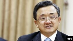 Ông Lưu Chấn Dân, Phó trưởng đoàn đại diện Trung Quốc tham dự các cuộc hội đàm của Liên Hiệp Quốc về biến đổi khí hậu tại Marrakech (Ma rốc).