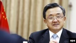 中国外交部副部长刘振民(资料图)