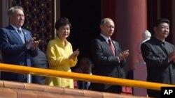 南韓總統朴槿惠出席北京閱兵式