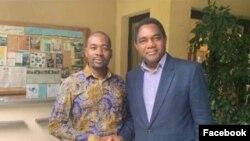 UMnu. Nelson Chamisa loMnu. Hakainde Hichilema wakwele Zambia.