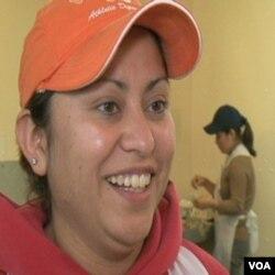 Raquel Trejo Rubio, kaže da za tri dana u Marylandu može zaraditi kao za dvije sedmice u Mexicu, ali da je teško biti odvojen od porodice