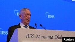 Sekretar za odbranu Džejms Matis (arhivski snimak).
