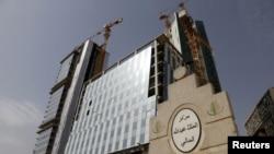 Pembangunan Distrik Keuangan Saudi Arabia, utara Riyadh (REUTERS/Faisal Al Nasser)