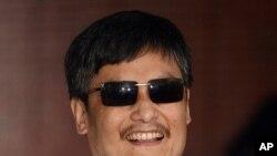 Luật sư bất đồng chính kiến mù Trần Quang Thành