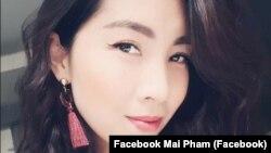 """Phạm Thị Tuyết Mai, người bị cảnh sát Pháp bắt giữ ở Paris vì bị nghi là """"buôn ma túy"""" cho rằng cô là nạn nhân của nạn đánh cắp danh tính cá nhân. (Facebook Mai Pham)"""