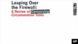 Freedom House's 'Leaping Over the Firewall: A Review of Censorship Circumvention Tools' report cover