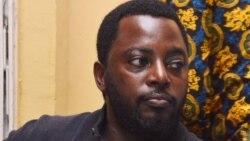 Zoé Kabila, mokambi ya etuka ya Tanganyika mpe leki ya mokonzi ya kala ya RDC Joseph Kabila, na Shark Club, Kinshasa, 31 octobre 2014.