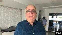 José Pallaís indicó que el informe desnuda la realidad del gobierno nicaragüense. Foto Daliana Ocaña.