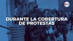 Agresiones a periodistas durante cobertura de protestas por la muerte de George Floyd