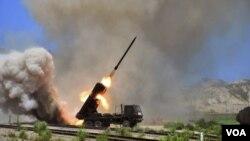 北韓試射更多拋射物