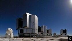 Teleskop yang dibangun di Chile oleh European Southern Observatory bekerjasama dengan Max Planck Institute for Astronomy (foto: ilustrasi).