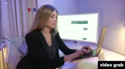 """Julia Shaw, pengembang chatbot pelaporan pecehan seksual """"Spot"""". (Foto: vodeograb)"""