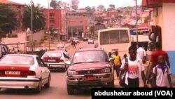 Une rue dans un quartier de Malabo, en Guinée Équatoriale, le 9 février 2015.