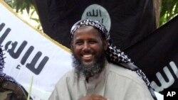 تصویر آرشیوی از مختار روبو، مشهور به ابو منصور، مرد شماره ۲ سابق گروه افراطی الشباب