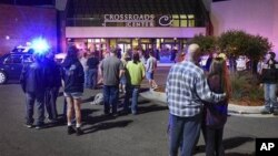 مرکز خرید ایالت مینه سوتا پس از وقوع حادثه