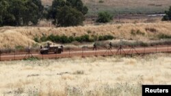 Izraelski vojnici se vidi Abbasiyeha, južni Libanon, 16. maj 2021. (REUTERS/Aziz Taher)