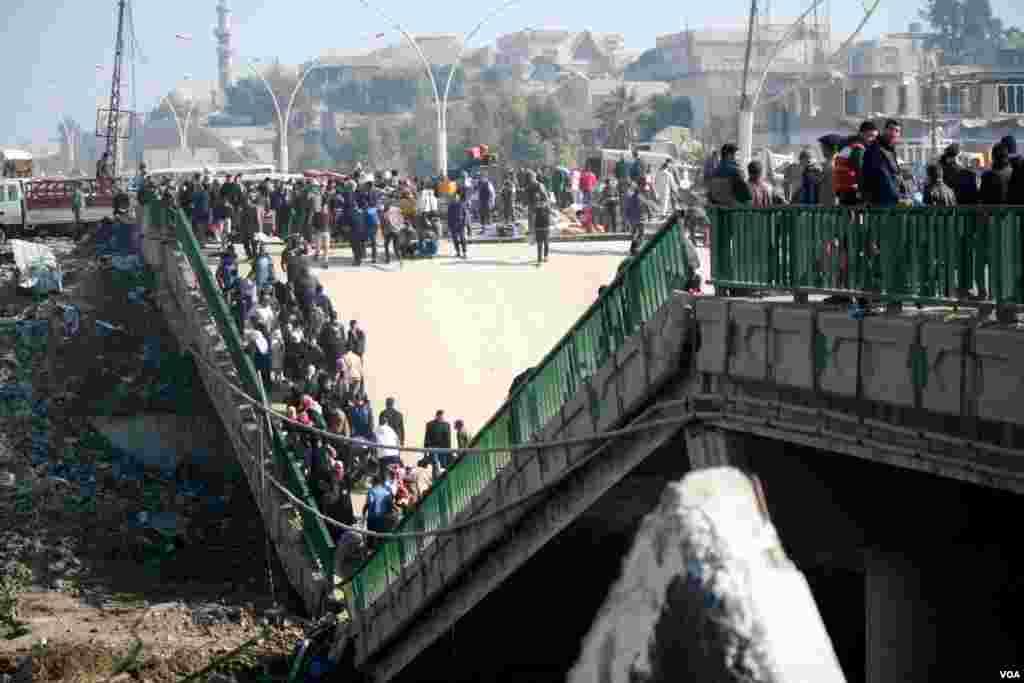 اقوام متحدہ کے اندازوں کے مطابق موصل میں ہونے والے جانی نقصان میں لگ بھگ نصف عام شہری تھے۔
