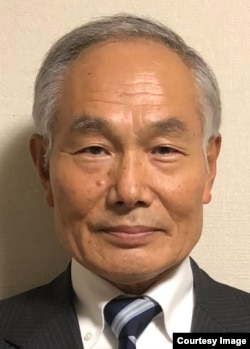 日本前防卫厅情报本部长太田文雄将军(照片提供: 太田文雄)