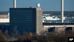 位于德国沃尔夫斯堡的大众汽车工厂