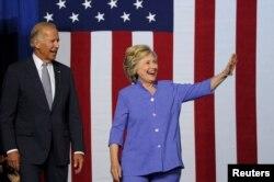 Hillari Klinton və Co Bayden