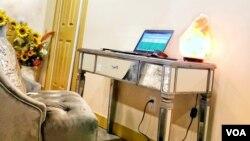 جب گھر سے کام کرنا پڑے تو دفتر بنانا ہی پڑتا ہے۔